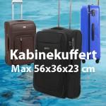 kabine kuffert 56x36x23 cm