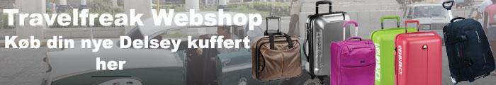 Delsey kuffert Danmarks bedste udvalg i Delsey kufferter