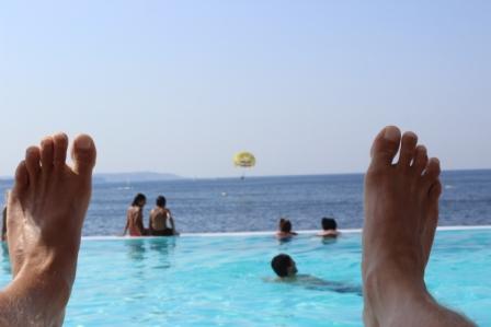 Vrik med fødderne