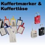 kuffertmærker - kuffertlåse