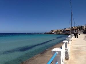 strandpromenade, malta