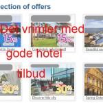 Hotel tilbud
