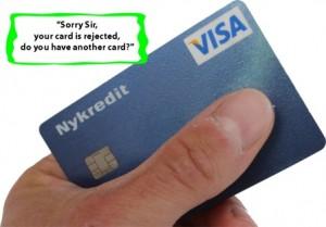 VISA afvist i udlandet