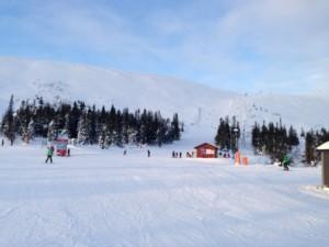 Godt skisted for nybegyndere