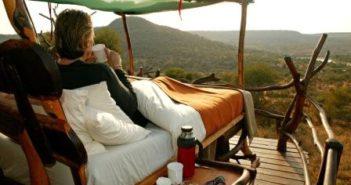 Glamping camping med udsigt Kenya
