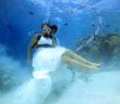 Bryllup under vandet