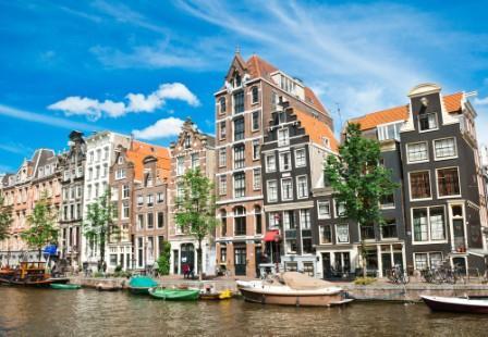 Amsterdam med børn