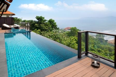 luksus i vietnam Hillside Pool Villa Banyan Tree Lang Co