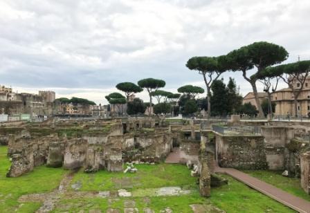 Picnic i Rom Forum Romanum