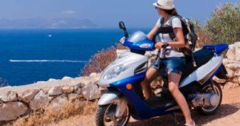 Scooterleje i ferien