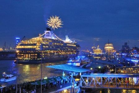 Cruise til Hamborg